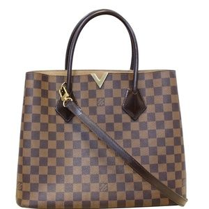 LOUIS VUITTON KENSINGTON DAMIER EBENE SHOULDER BAG